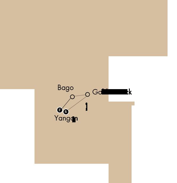 THE FORMER CAPITAL YANGON AND BEYOND